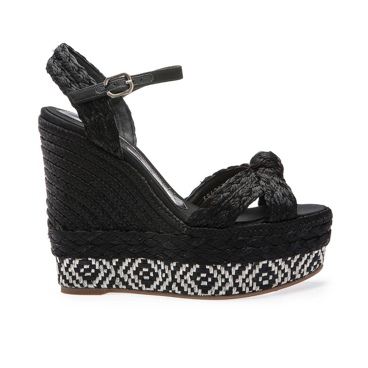Espadrille negro Magrit lateral